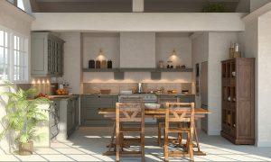Cuisine avec verrière à Angers